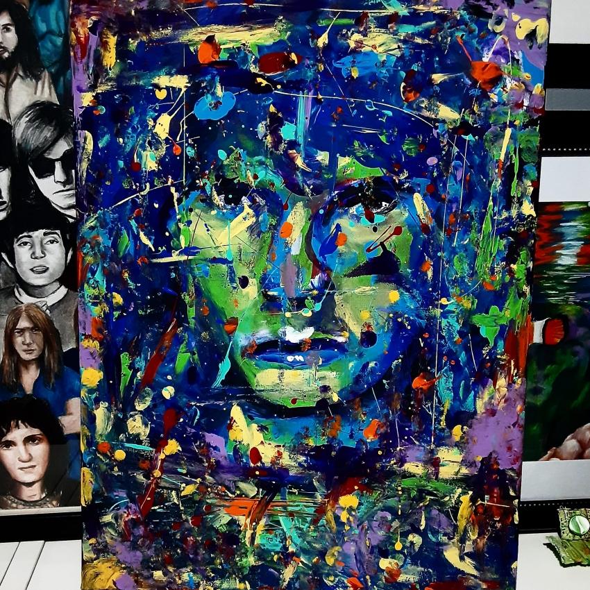 Jim Morrison by Macha